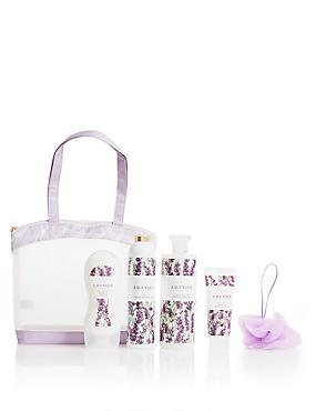 Lavender Toiletry Bag, , catlanding