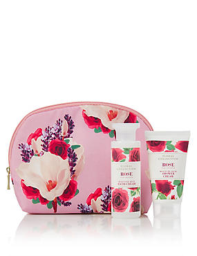 Rose Cosmetic Purse, , catlanding