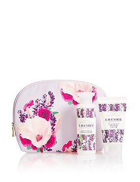 Lavender Cosmetic Purse Gift Set, , catlanding