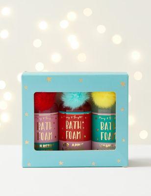 Bath Foam Trio