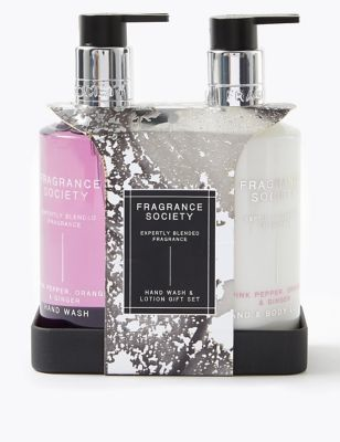 Pink Pepper Hand Wash & Lotion Gift Set