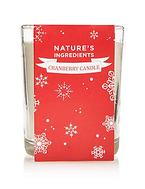 Cranberry Candle, , catlanding
