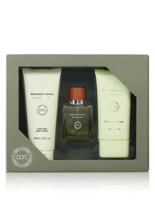 Bergamot & Basil Gift Set