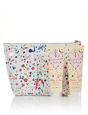 Flower Shower Bag , , catlanding