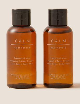 2 Pack Calm Hand Sanitiser 60ml