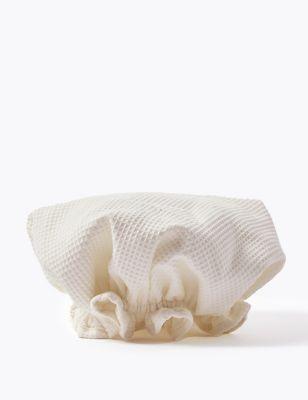 Organic Cotton Shower Cap