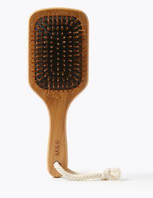 Bamboo Large Paddle Brush