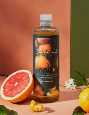Spanish Blood Orange Bath & Shower Gel 500ml