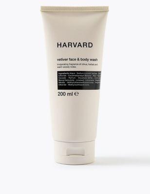 Vetiver Face & Body Wash 200ml