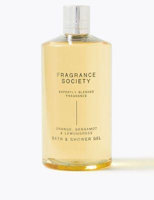 Orange, Bergamot & Lemongrass Shower Gel 500ml