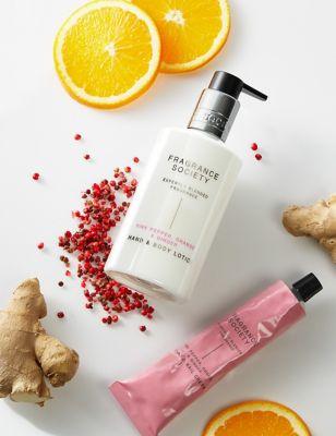 Pink Pepper, Orange & Ginger Hand Cream 75ml