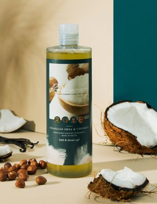 Ghanaian Shea Butter Bath & Shower Gel 500ml