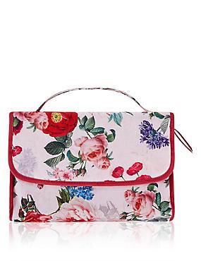 Floral Hanging Bag, , catlanding