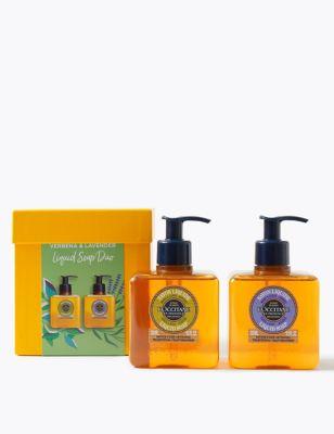 Verbena & Lavender Liquid Soap Duo 300ml