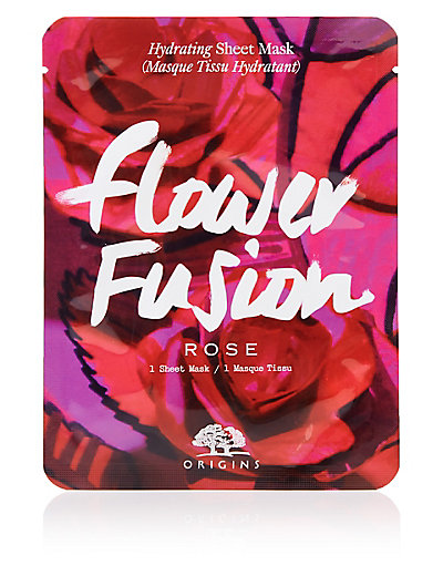 Flower Fusion Hydrating Sheet Mask Rose Flower