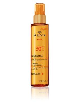 Tanning Oil for Face & Body SPF30 150ml