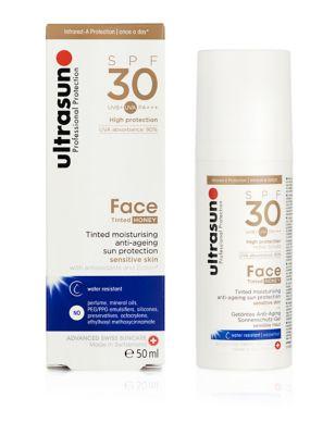 Face Tinted SPF 30 Honey 50ml