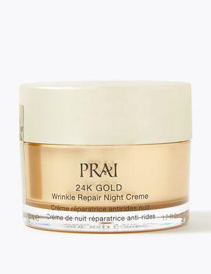 24K Gold Wrinkle Repair Night Crème