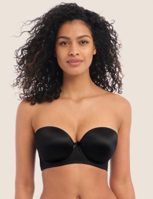 Deco Underwired Strapless Moulded Bra B-GG