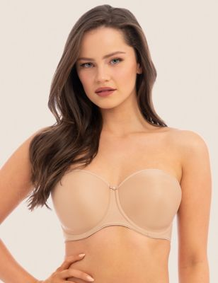 Smoothing Underwired Moulded Strapless Bra C-G