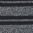Cotton Striped Crew Neck T-shirt - grey