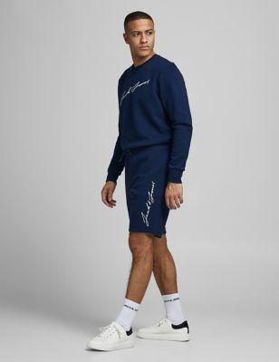 Cotton Crew Neck Sweatshirt