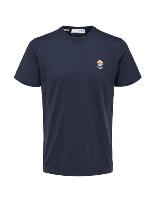 Organic Cotton Embroidered T-Shirt