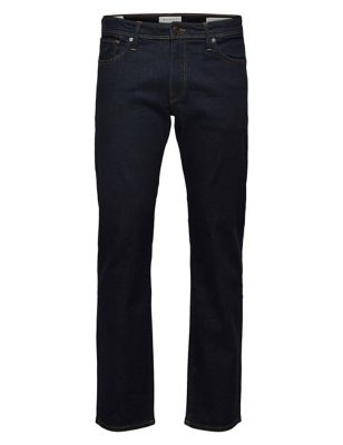 Organic Cotton Straight Fit 5 Pocket Jeans