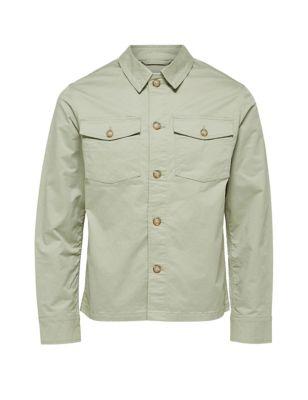 Organic Cotton Utility Jacket