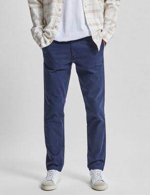 Regular Fit Organic Cotton Chinos