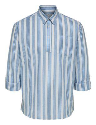 Organic Cotton Striped Shirt