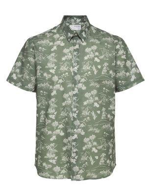 Organic Cotton Hawaiian Shirt