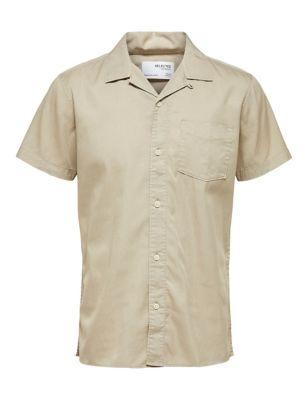 Organic Cotton Revere Shirt