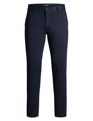 Slim Fit Jersey Chinos