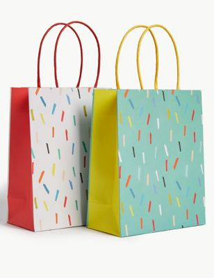 Pack of 6 Small Gift Bags