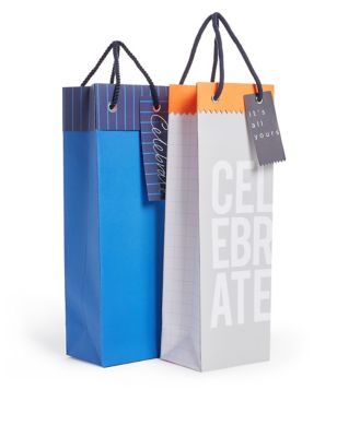 Pack of 2 Bottle Bags