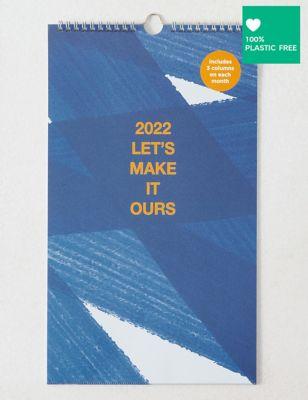 2022 Couple's Medium Calendar - Contemporary Graphic Design