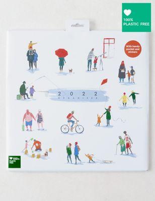 2022 Family Organiser - Contemporary Illustrated Family Life Design