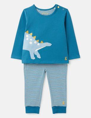 Organic Cotton Dinosaur Outfit (0-24 Mths)