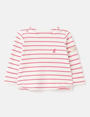 Pure Cotton Striped Top (0-24 Mths)