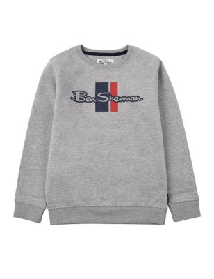 Cotton Slogan Sweatshirt (7-15 Yrs)