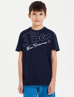 Pure Cotton Printed T-Shirt (7-15 Yrs)