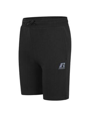 Cotton Logo Shorts (7-16 Yrs)