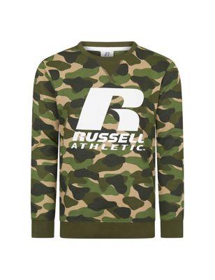 Cotton Camouflage Sweatshirt (7-16 Yrs)