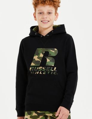 Cotton Camouflage Hoodie (7-16 Yrs)
