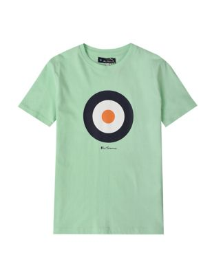 Pure Cotton Target Graphic T-Shirt