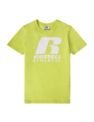 Pure Cotton Slogan T-Shirt