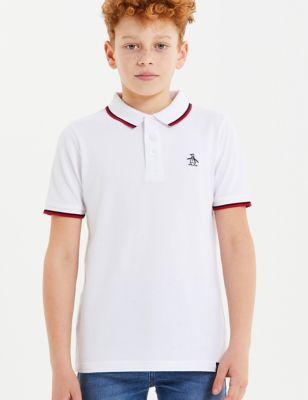 Pure Cotton Polo Shirt (7-15 Yrs)