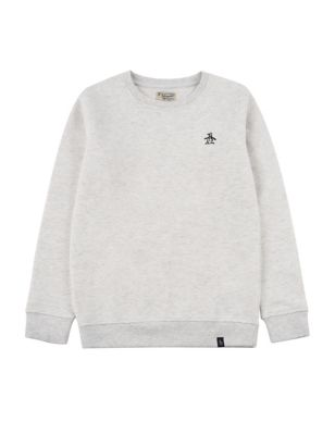 Pure Cotton Sweatshirt (7-15 Yrs)