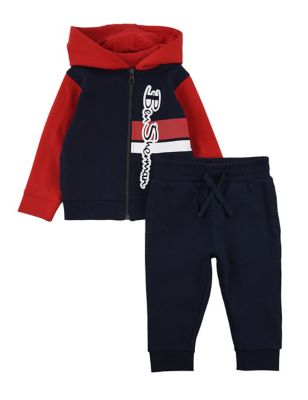 2pc Cotton Hoodie & Jogger Outfit (6-36 Mths)